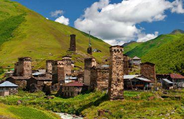 Тур по городам Батуми (Аджария), Местия и Ушгули (Сванетия)