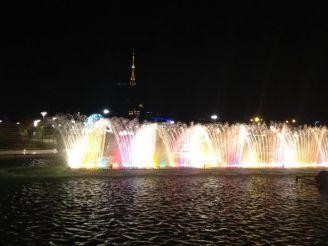 Танцующие фонтаны, Тбилиси
