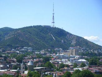 Гора Мтацминда, Тбилиси