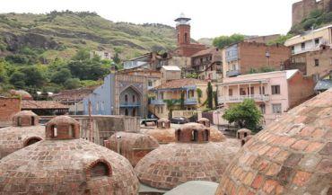 Mirzoevskie baths, Tbilisi