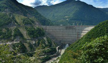 Inguri Dam, Jvari
