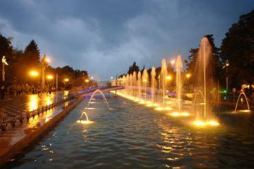 Boulevard Hostorical Fountains, Batumi
