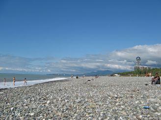 Пляж Батуми, Батуми
