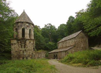Mtsvane Monastery, Borjomi