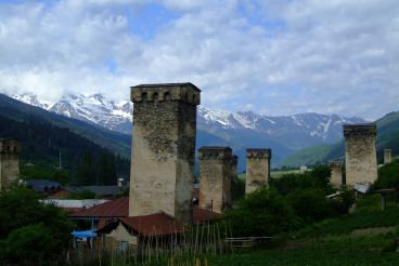 Watchtowers in Mestia