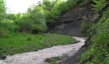 Река Алгети, Алгети