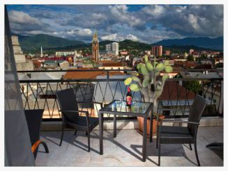 One-Bedroom Apartment with Terrace and Panoramic View