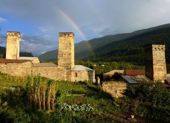Svaneti Towers in Mestia