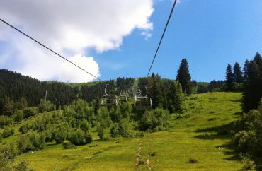 Cable Car Station Zuruldi