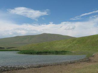 Озеро Хозапини (Акташ)
