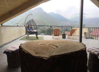 Двухместный номер с 1 кроватью и видом на горы